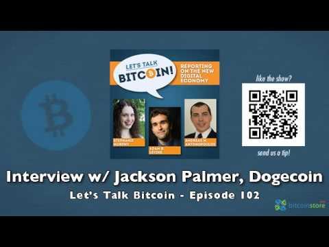 Interview w/ Jackson Palmer, Dogecoin