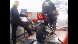8. 2005 SV1000S DYNO RUN with Yoshi no PC