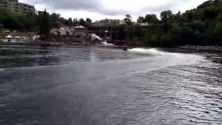 Bracebridge (ON) Canada  city pictures gallery : Ontario Watercross Demo Muskoka River Bracebridge Canada Day 2015