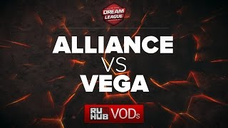 Alliance vs Vega, DreamLeague Season 6, game 1
