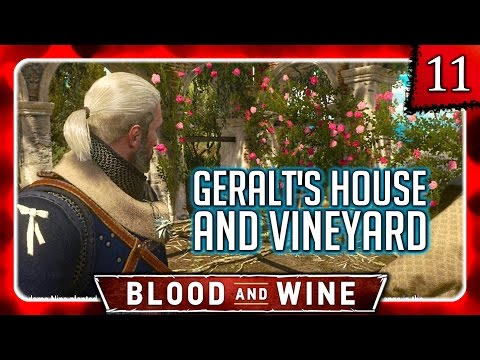 Witcher 3 🌟 BLOOD AND WINE 🌟 Geralt's Own Vineyard & House + Renovation!