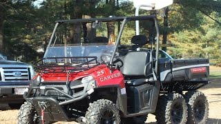 7. Polaris Ranger 6x6 offroad mud and snow compilation