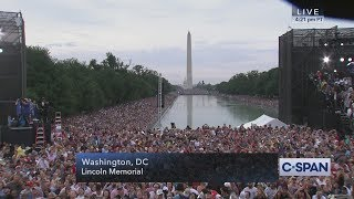 President Trump COMPLETE REMARKS at July 4th