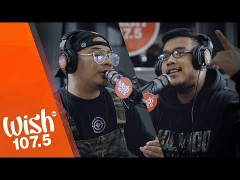 "Droppout and Rhyne perform ""Sabado It"" LIVE on Wish 107.5 Bus"