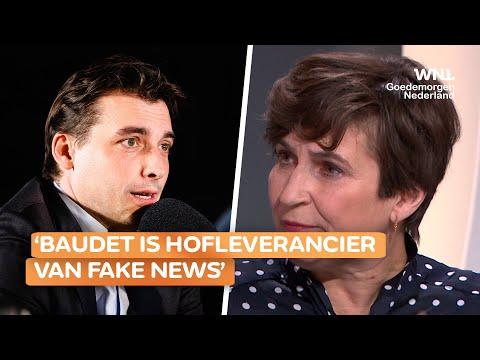 Twitter waarschuwt bij tweet van Baudet