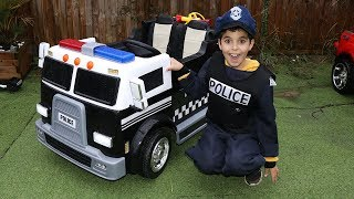 Nonton Sami Plays With His New Police Truck  Video For Kids Film Subtitle Indonesia Streaming Movie Download