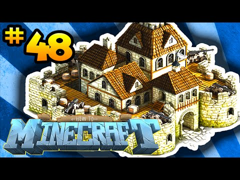 How to Minecraft: DEFENDING THE BASE! (48) – w/ Preston, Choco & Kenny!