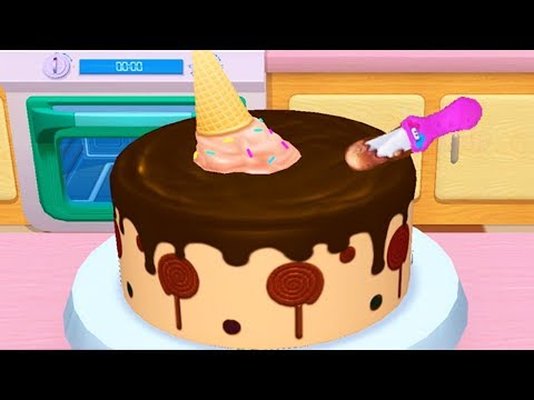 Baby Learn Colors With My Bakery Empire - Play Bake, Decorate & Serve Cakes Cooking Games For Girls