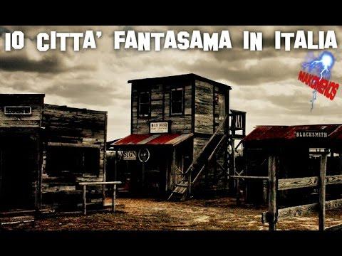 10 CITTÀ FANTASMA IN ITALIA