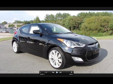 2012 Hyundai Veloster 6-spd Start Up, Exhaust, and In Depth Tour
