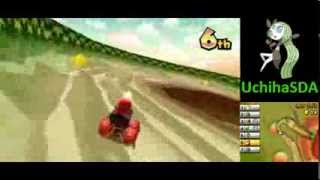 more races using shy guy + barrel train. my performance is more erratic.
