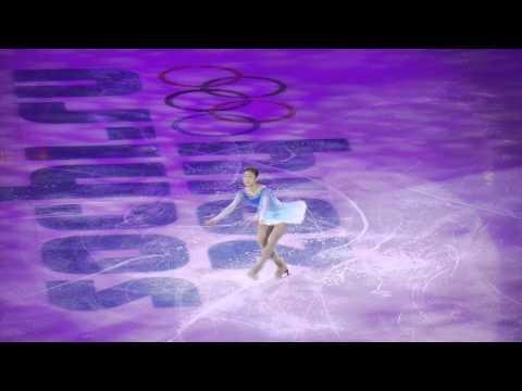[Fan cam] Yuna Kim Ex 'Imagine' in Sochi 2014 Winter Olympics