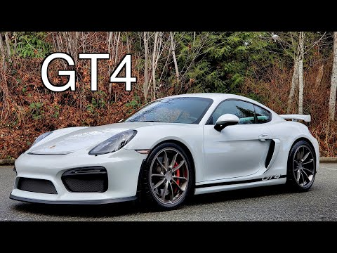 Porsche Cayman GT4 // limited edition holding value