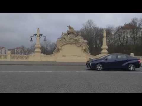 Toyota Mirai po raz pierwszy w Polsce - film z wywiadami