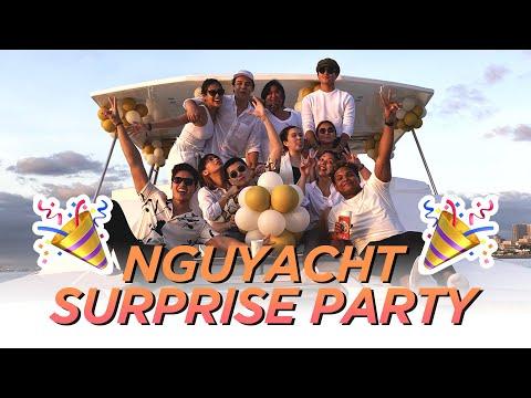 Nguyacht Surprise Party! (Ikakasal na ko by 35??) // Marco Gumabao