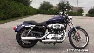 10. Used 2006 Harley Davidson Sportster 1200 Custom Motorcycles for sale