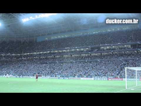 Video Grêmio x Fluminense - Libertadores da América 2013 - Geral do Grêmio - Grêmio