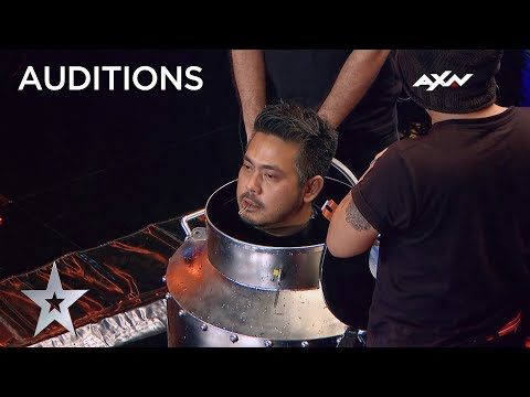 Escape Artist's Death Defying Act Will Leave You Breathless! | Asia's Got Talent 2019 on AXN Asia