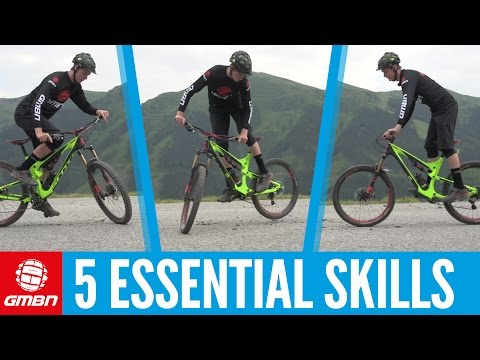 Five Essential Skills To Master On Your Mountain Bike (видео)