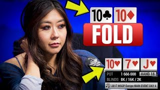 Video Maria Ho FOLDS A SET On The Flop?! - Insane Poker Hand (WSOP Europe) MP3, 3GP, MP4, WEBM, AVI, FLV Februari 2019