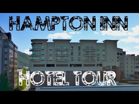 Hotel Tour: Hampton Inn Downtown Roanoke VA on Market parking garage