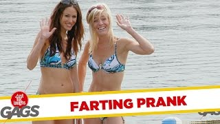 Underwater Farting Prank - Throwback Thursday