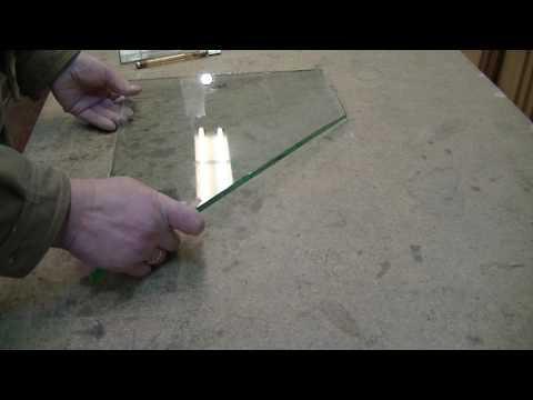 Как резать закаленное стекла в домашних условиях 667