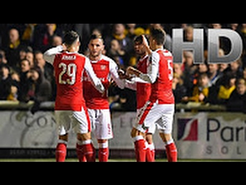 Sutton United vs Arsenal 0 2 All Goals and Highlights FA CUP 2017 HD