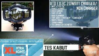 Video RTD E03C, Dimensi, Body , Tes jarak cahaya 20-30 meter, Tes kabut By XtraLight MP3, 3GP, MP4, WEBM, AVI, FLV September 2018