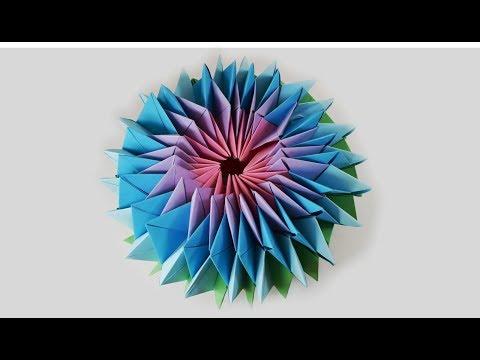 Magischer Stern aus Papier | Origami