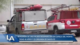 DESDE EL MARTES ESTA DESAPARECIDA: COMUNICADO POR LA MUJER DESAPARECIDA EN CAPILLA DEL MONTE
