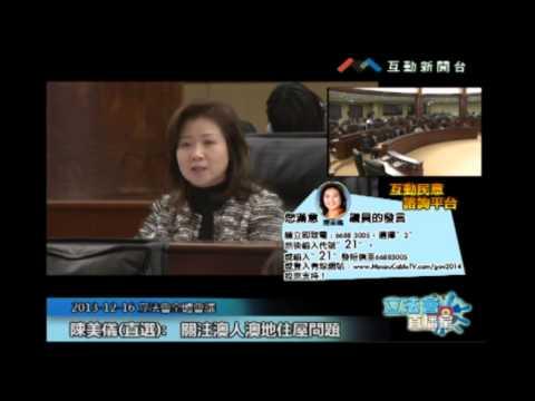 陳美儀20131216立法會議