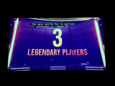 Jeopardy, Greatest of All Time Day 4 intro, Game 1 - IT'S BACK 😃 (1/14/20)