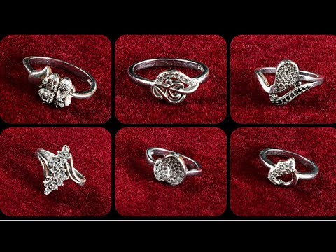 Silver ring designs | simple rings for women