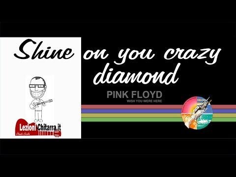 SHINE ON YOU CRAZY DIAMOND RIFF -  LEZIONE CHITARRA - PINK FLOYD -  DAVID GILMOUR