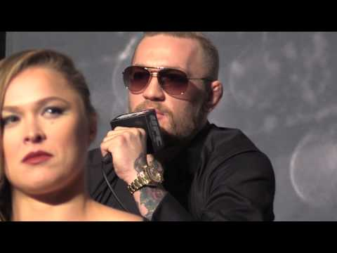 Conor - http://www.MMAWeekly.com/ -- Conor McGregor addressed the press and answered fan questions about his upcoming fight against Denis Siver at The Time Is Now UF...