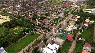 Cagayan De Oro Philippines  city images : Uptown Cagayan de Oro City Aerial View
