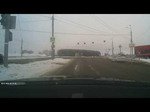 Авария с пешеходом в Ижевске