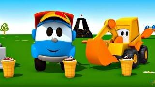 leo junior   dondurma makinesi  eğlenceli çizgi film  türkçe izle