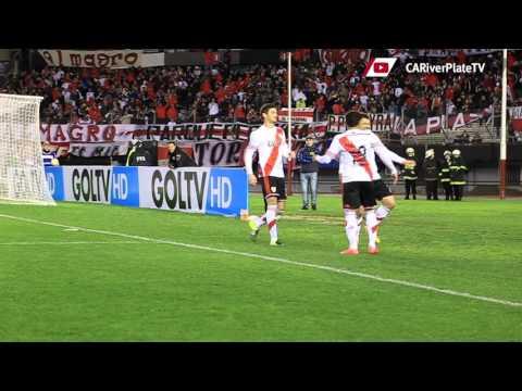 El gol de Mora a Liga de Quito desde el campo de juego