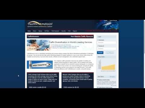 Use Traffic Monsoon to Make More Money Online