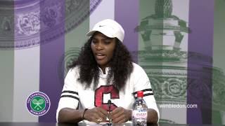 Tennis Highlights, Video - [HD]Serena Williams Semi-Final Press Conference