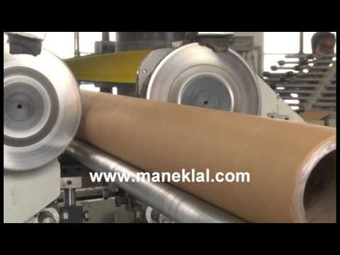 Manek - Paper Tube Making Machine