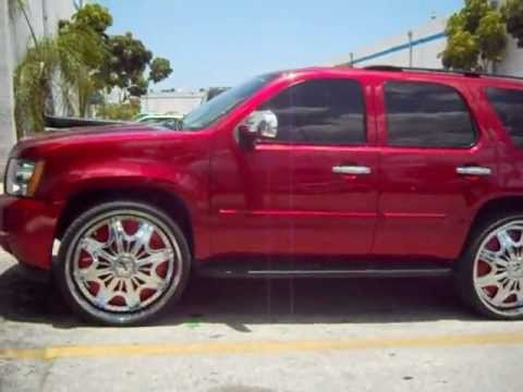 Chevy Tahoe on 28