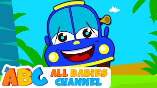 Wheels On The Bus Go Round And Round | Popular Nursery Rhymes from All Babies Channel
