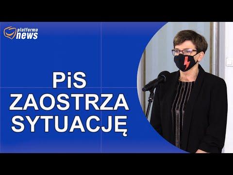 PiS chce dyscyplinować nauczycieli po protestach młodzieży