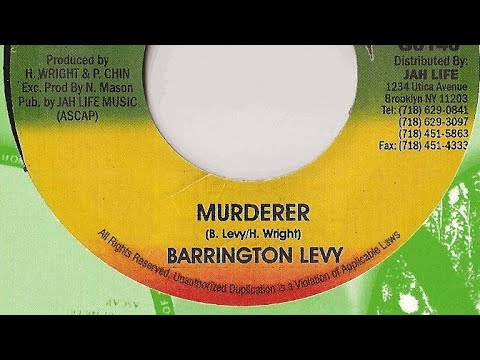 Barrington Levy - Murderer + Version (Tell Dem A Ready) YouDub Sélection