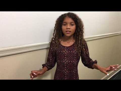 Amarayah Annie Audition