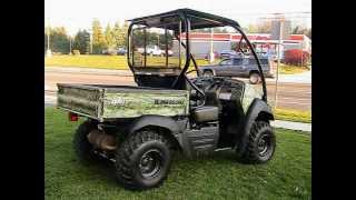 4. 2006 Kawasaki Mule 610 4x4 Utility Vehicle For Sale on EBay