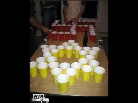 Jews VS Nazis Beer Pong College Drinking Game